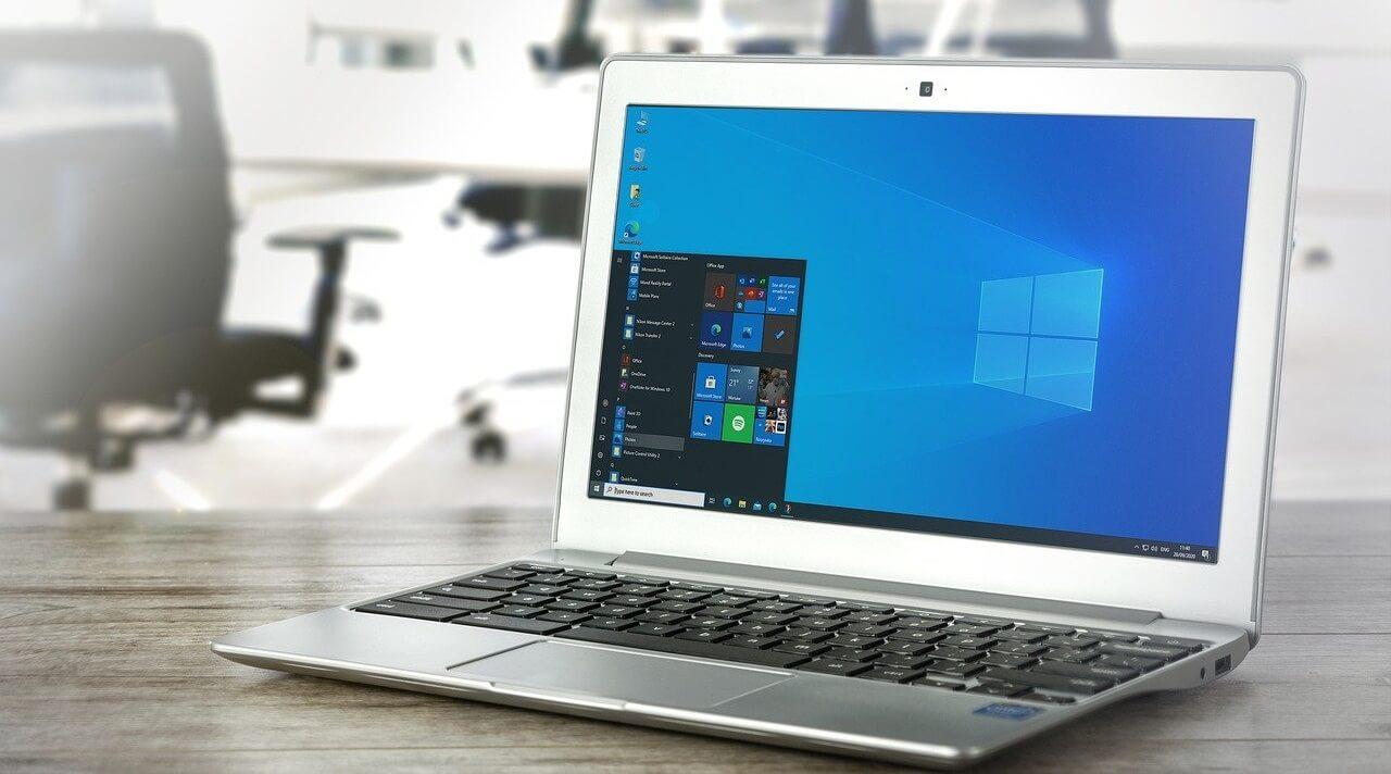 Das Betriebssystem nach abgeschlossenem Windows 10 Download