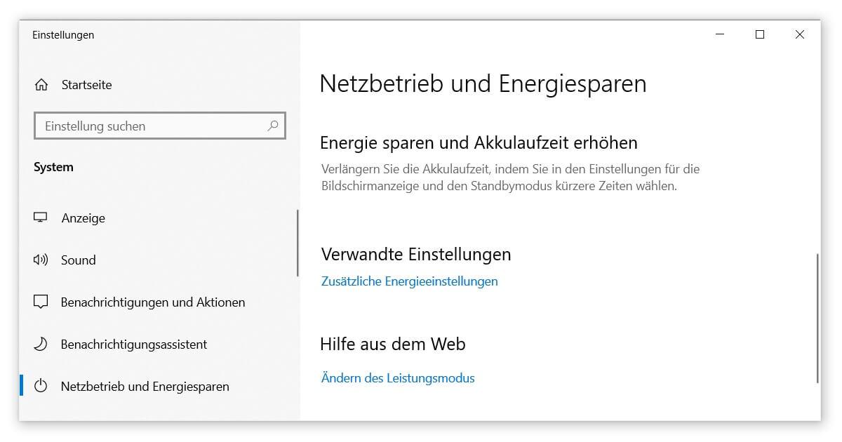 Den Schnellstart von Windows 10 nutzen